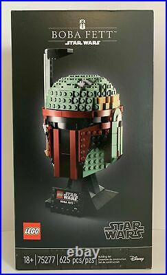 LEGO Star Wars Helmet Building Collection. Complete Set of 3 75274, 75276, 75277