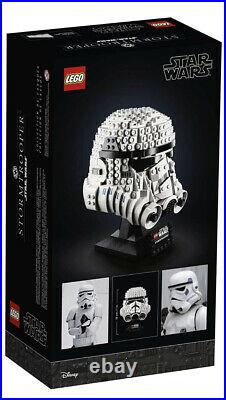LEGO Star Wars Stormtrooper Helmet 75276 New (647 Pieces) SEALED