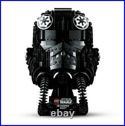 LEGO Star Wars TIE Fighter Pilot Helmet Display Set 75274