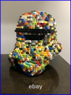 Lego Star Wars Custom Stormtrooper Helmet Life Size