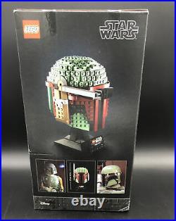 Lego Star Wars Helmet Collection 75277 Boba Fett, 75276 Stormtrooper, and 75274