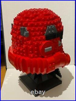 Lego Star Wars Stormtrooper Helmet Red