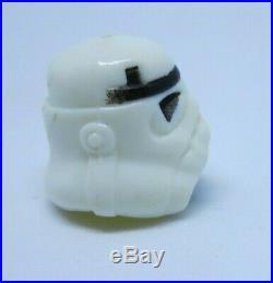 Luke Stormtrooper Helmet ORIGINAL Not Repro Last 17 Star Wars POTF