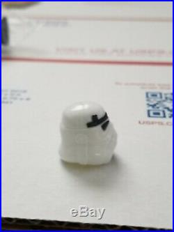 Luke Stormtrooper Helmet ORIGINAL Not Repro Last 17 Star Wars POTF 1984 kenner