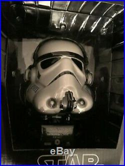 MASTER REPLICAS STAR WARS Stormtrooper HELMET. 45 Scaled NEW MIB