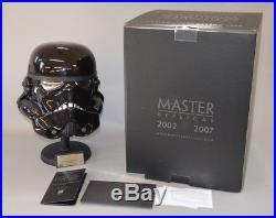 Master Replicas Shadow Stormtrooper Helmet LE Full Scale Replica SW-177LE