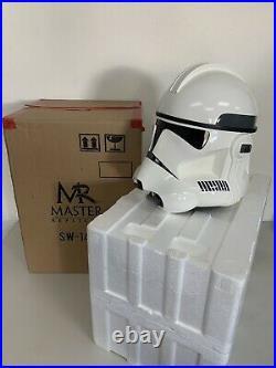 Master Replicas Star Wars CLONETROOPER Stormtrooper 11 Helmet Replica SW-144 B