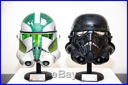 Master Replicas Star Wars Helmet Shadow Stormtrooper Commander Gree Not EFX Rare