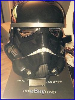 Master Replicas Star Wars Shadow Storm Trooper Helmet Limited edition 95 of 500