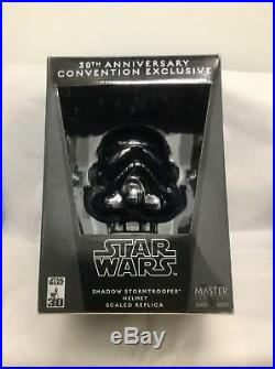 Master Replicas Star Wars Shadow Stormtrooper Helmet Scaled Replica New Sealed