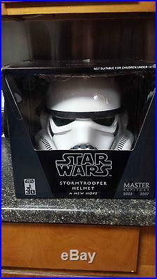 Master Replicas Star Wars Storm Trooper Helmet FULL SIZE 11