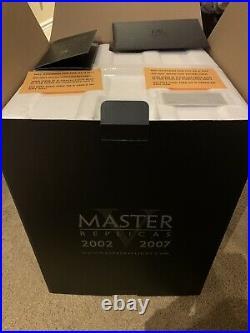 Master Replicas Star Wars Stormtrooper Helmet EP IV 153LE Plaque #30 Sealed New