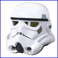 NEW Star Wars Black Series Stormtrooper Voice Changer Helmet GENUINE