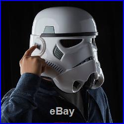 NEW Star Wars Imperial Stormtrooper Electronic Voice-Changer Helmet Cosplay Gift