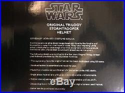 NIB ANOVOS replica Star Wars stormtrooper helmet (Classic Trilogy)