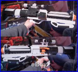 Nerf Rival Star Wars Stormtrooper Blaster + extra clip + Shocktrooper Helmet