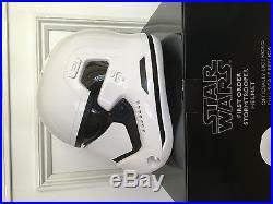 New Anovos Star Wars First Order Stormtrooper Helmet Life Size