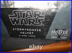 New Masters Replica Star Wars Stormtrooper Helmet A New Hope Full Scale Replica