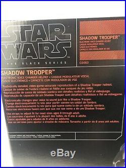 New Star Wars Battlefront Shadow Trooper The Black Series Voice Changing Helmet