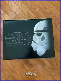 New Star Wars The Black Series Imperial Stormtrooper Helmet Voice Changer