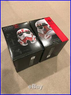 ONE Star Wars Black Series Shock Trooper Shocktrooper Helmet Stormtrooper