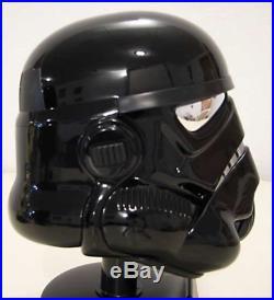 RARE 2007 Master Replicas Exclusive. 45 Scale EU Shadow Stormtrooper Helmet NEW