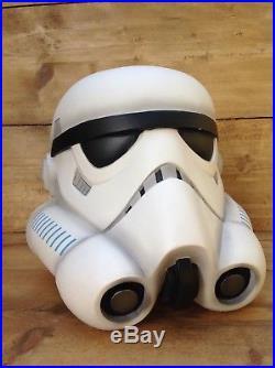 Rare And Unusual Vintage Original Resin Star Wars Stormtrooper Prop Helmet