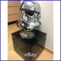 STAR WARS 40th Anniv. Stormtrooper Chrome-plated Helmet limited World 500 pcs
