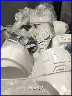 STAR WARS ANOVOS STORMTROOPER ARMOR KIT XL Requires Assembly Complete Helmet