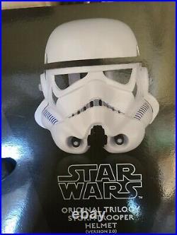 STAR WARS CLASSIC stormtrooper HELMET Prop Replica A New Hope Anovos NEW IN BOX