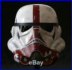 STAR WARS EFX The Force Unleashed INCINERATOR Stormtrooper Helmet NEW LOW # 3