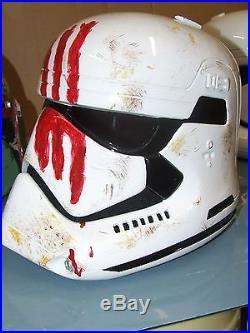 Star Wars Ep7 The Force Awakens Finn's Stormtrooper Helmet With Inner Foam