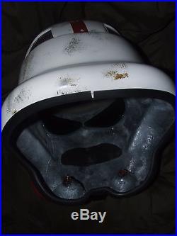Star Wars Fibreglass Stormtrooper Incinerator Trooper Helmet Full Size 1-1 Scale