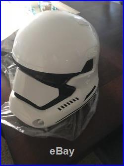 STAR WARS First Order Stormtrooper ANOVOS Life-Size Helmet
