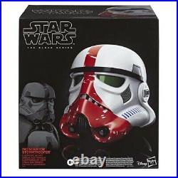 STAR WARS Incinerator Stormtrooper Electronic 11 Scale Helmet Replica (Hasbro)