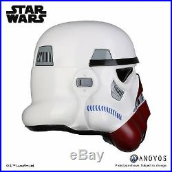 STAR WARS Incinerator Stormtrooper Helmet Anovos Collectibles FULL SIZE NEW