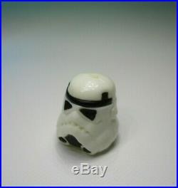 STAR WARS Last 17 Luke Stormtrooper POTF LFL 1984 Original Helmet & Blue/Blk