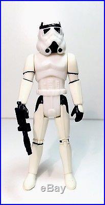 STAR WARS-POTF-1984-LUKE STORMTROOPER-LasT 17-Nice WHITE HELMET-C/90-VINTAGE-AFA