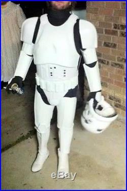 STAR WARS STORM TROOPER COSTUME ARMOR LIFE SIZE (Lucas Arts Helmet)