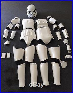 Star Wars Storm Trooper Costume Armor Life Size Movie Helmet Prop