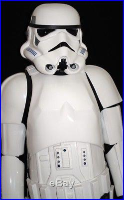 STAR WARS STORMTROOPER HERO HELMET, ARMOUR, BOOTS (Signed by Andrew Ainsworth)
