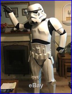 STAR WARS Stormtrooper Shepperton Design Battle Armour Suit Helmet & Neck Seal