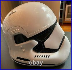 STAR WARS THE FORCE AWAKENS First Order Stormtrooper Helmet ANOVOS