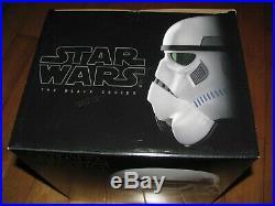 STAR WARS The Black Series Imperial STORMTROOPER Electronic Helmet NEW