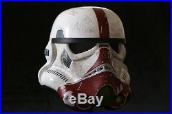 STAR WARS The Force Unleashed INCINERATOR Stormtrooper Helmet by EFX