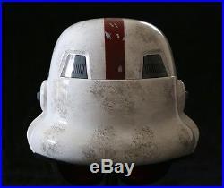 STAR WARS The Force Unleashed INCINERATOR Stormtrooper Helmet by EFX #501 of 501