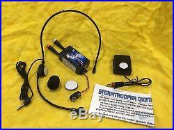 STORMTROOPER HELMET DIGITAL VOICE CHANGER KIT With SPEAKER & MICROPHONE
