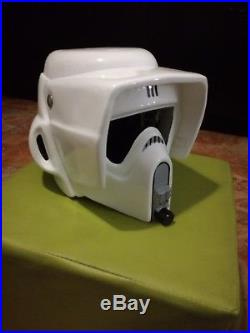 Scout trooper helmet prop star wars stormtrooper vader boba armor kit