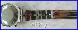 Seiko 6139-7100 Helmet Stormtrooper Automatic Chrono Orig Fish Bone 03/1976