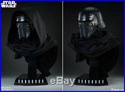 Sideshow Kylo Ren Life Size Bust Prop Star Wars -Helmet/darth vader/anovos/efx